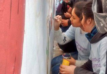 Un mural y mas color para la comuna