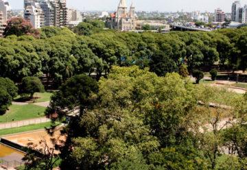 Vecinos de Parque Chacabuco buscan proteger el parque