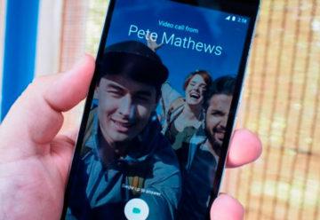 Google lanzó Duo, una aplicación para hacer videollamadas