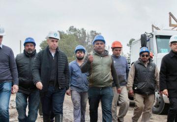 Rodríguez Larreta recorrió la futura Villa Olímpica