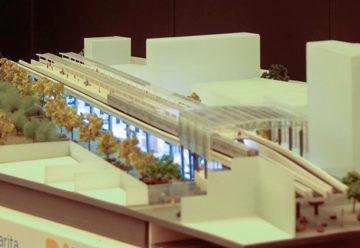 Larreta y Dietrich presentaron el proyecto del viaducto del San Martín