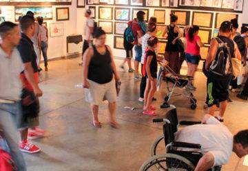 Muestra de Artes Plásticas de jóvenes del Bajo Flores