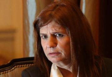 Bullrich manifesto que bajó la cantidad de homicidios en Flores