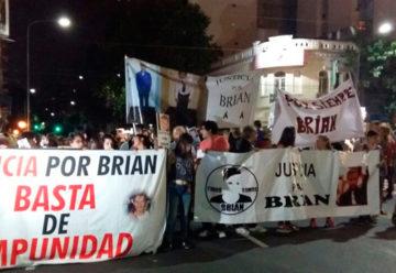 Pedido de Justicia por Brian Aguinaco