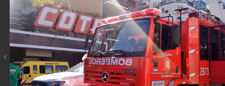 Incendió de un departamento en San Pedrito y Rivadavia
