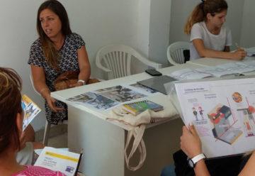 Reuniones para la puesta en valor delCentro comercialGaona