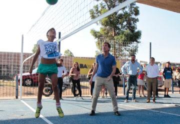 Nuevo espacio recreativo en el Barrio Ramón Carrillo