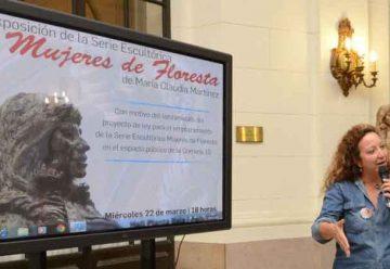 """Inauguraron la muestra """"Mujeres de Floresta"""""""