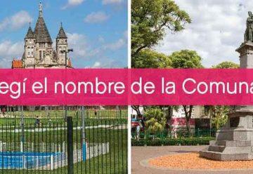 Invitan a elegir el nombre de la Comuna 7