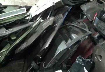 Secuestraron autopartes robadas en talleres mecánicos deFlores