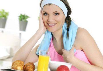 Comida sana, mucho deporte y poca televisión