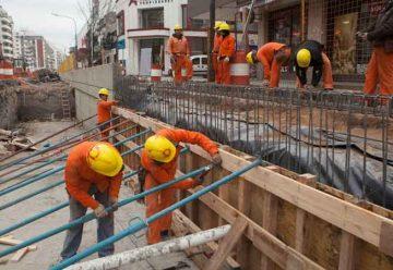 Avanzan los trabajos del Paso Bajo Nivel de la avenida Nazca