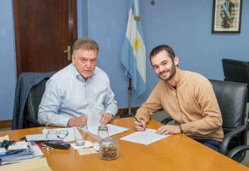 Acuerdo entre nación y ciudad para construir viviendas
