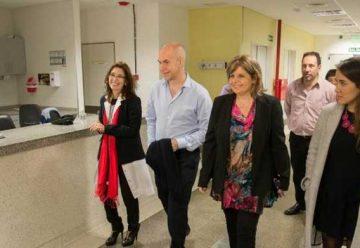 El jefe de Gobierno visitó el hospital Álvarez por el Plan de Remodelación de las Guardias