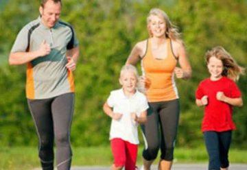 Haciendo actividad física para estar mejor