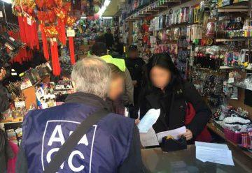 Gran operativo contra las falsificaciones de perfumes