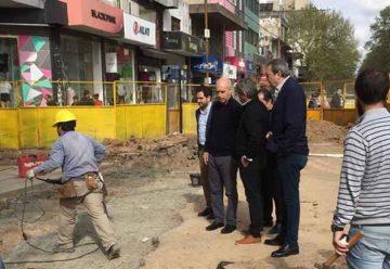 El Jefe de Gobierno recorrió obras en el Barrio de Flores