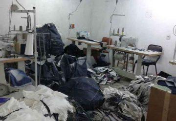 Explotación laboral en un taller textil deParque Chacabuco