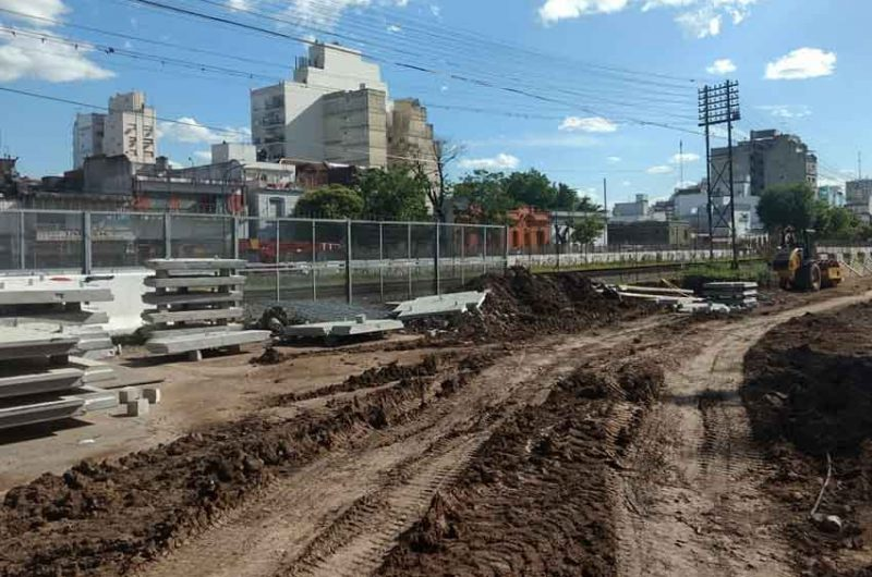 Avance de los trabajos de la construcción del Puente Argerich