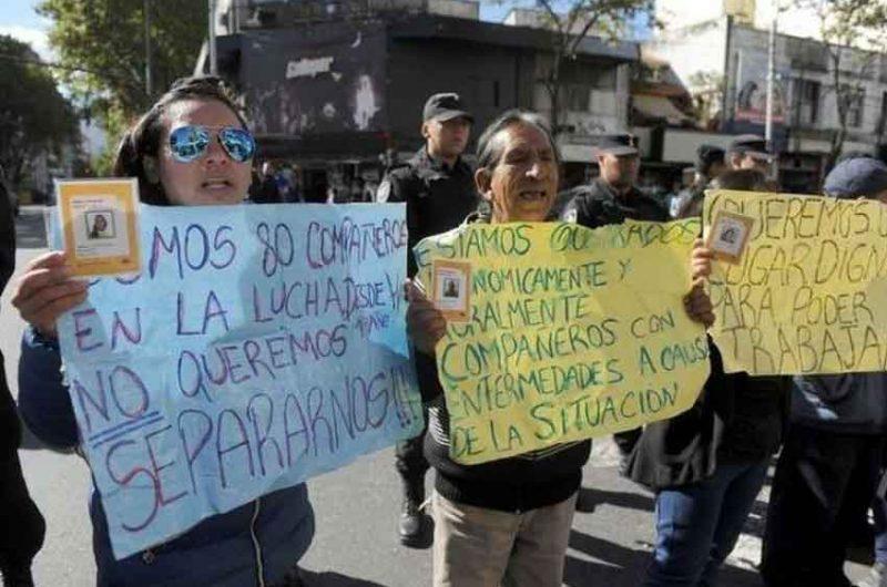 Operativo contra la venta ilegal en Avenida Avellaneda