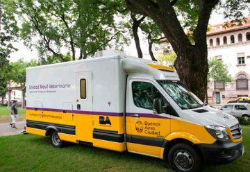Atención veterinaria gratuita en distintos puntos de la ciudad