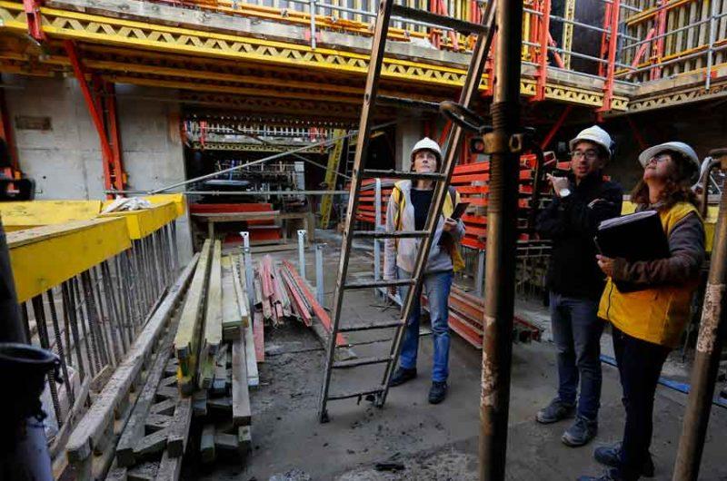Clausuraron obras en construcción por irregularidades