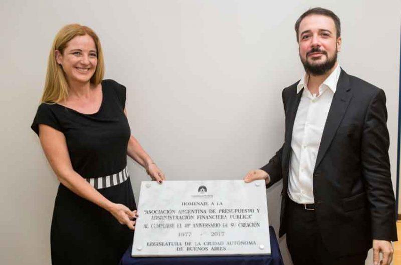 La Legislatura Porteña reconoció a ASAP por su 40° aniversario