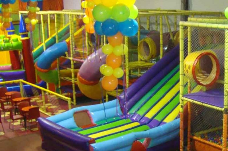 Tratamiento sobre los lugares para fiestas infantiles