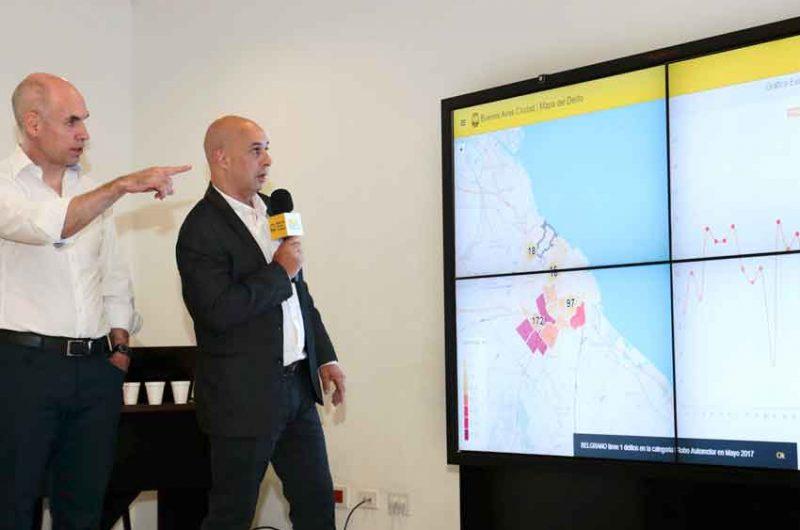 Presentaron el Mapa del Delito en la Ciudad