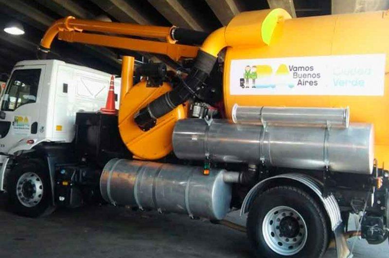 Incorporan nuevos camiones para el mantenimiento de los sistemas pluviales