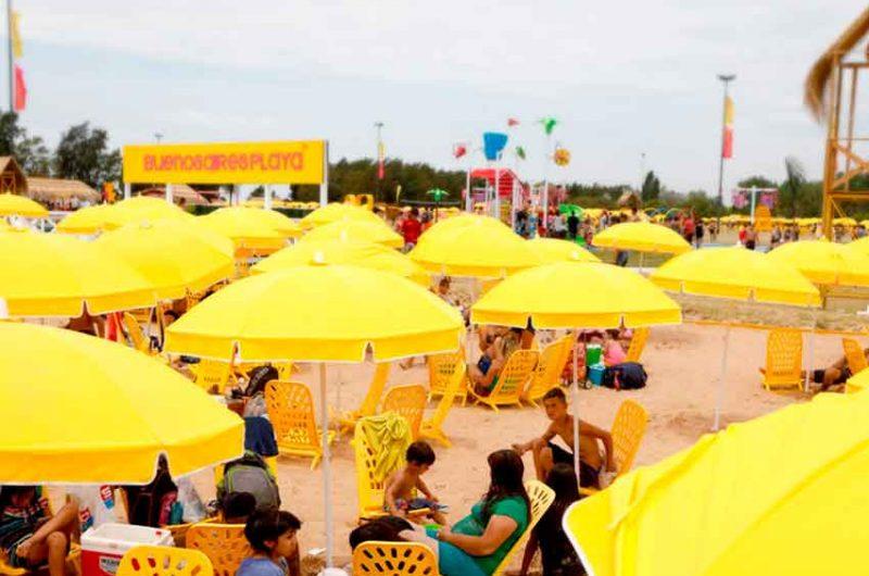 Más de 250 mil personas ya visitaron Buenos Aires playa