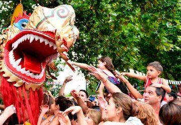 Celebración del Año Nuevo Chino hoy y mañana en la ciudad