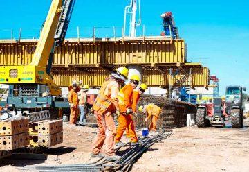 Avances en la construcción del nuevo viaducto San Martín