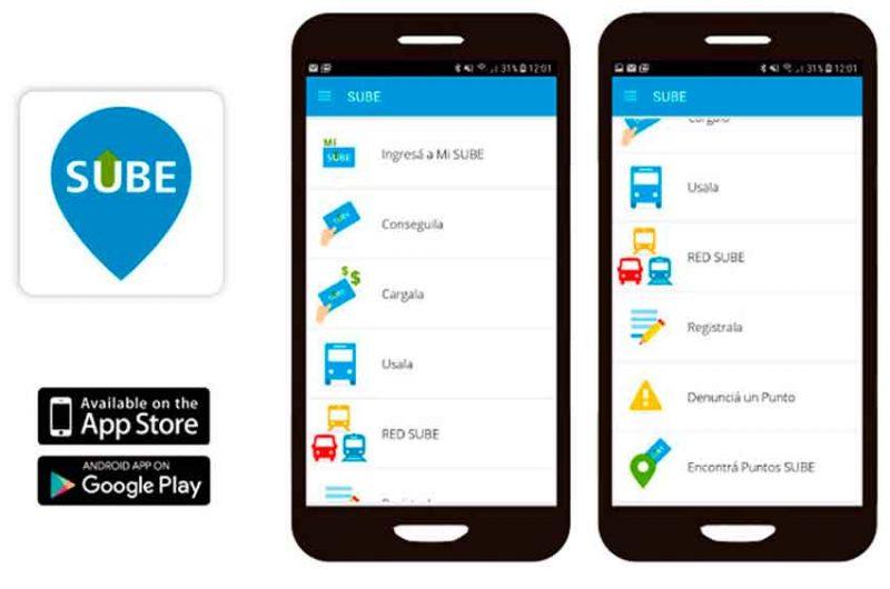 Una aplicación ofrece los detalles de la tarjeta SUBE