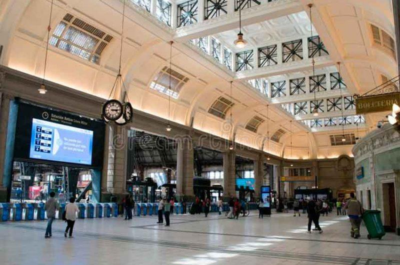 La estación Retiro del Tren Mitre está siendo restaurada
