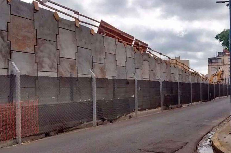 Avanzan las obras y trabajos del futuro Puente Argerich