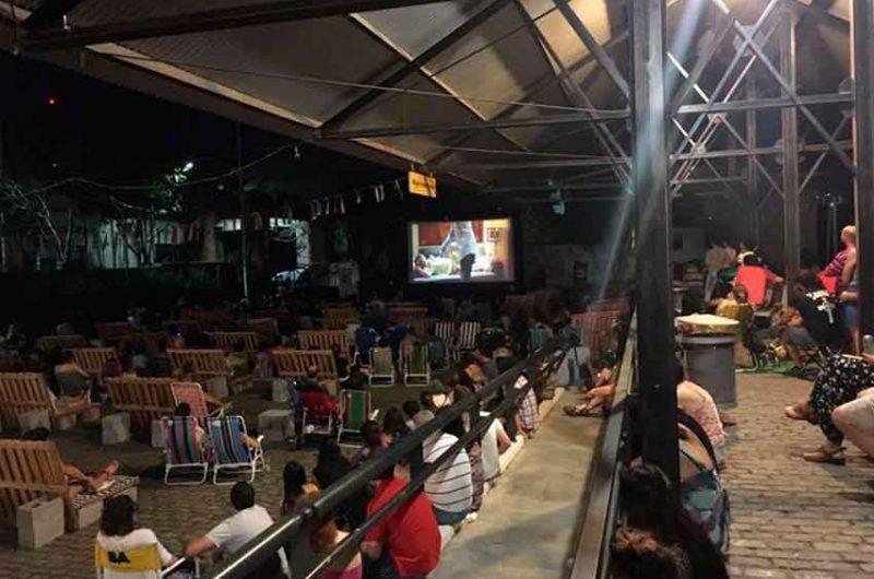 Última jornada de noches de películas y comida al aire libre