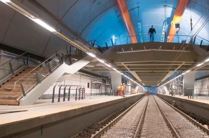 El próximo 17 de mayo se inaugurará una estación de subte de la línea H