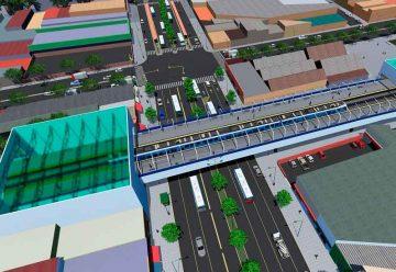 Habilitan la construcción de tres grandes viaductos elevados
