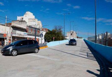 Fue inauguradoel puente vehicular de la calle Argerich