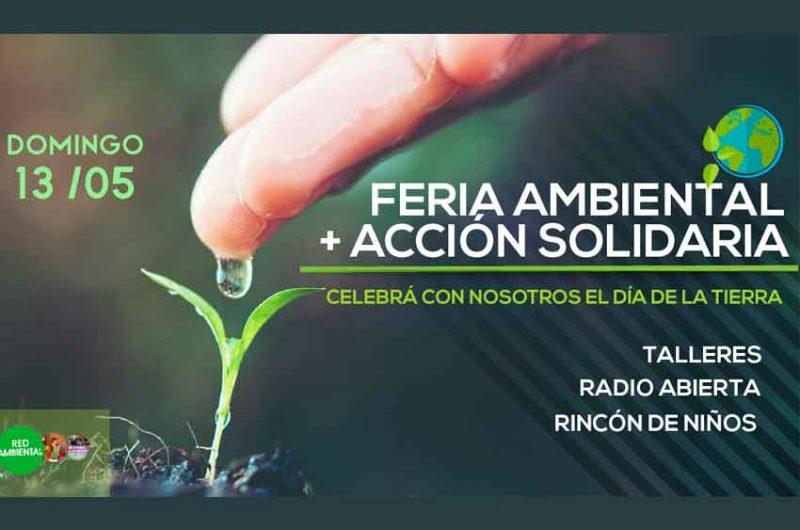Feria ambiental, más Acción solidaria en Parque Chacabuco
