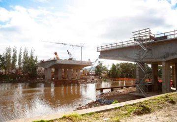 En el mes de julio se inaugurará el Puente Lacarra en Soldati