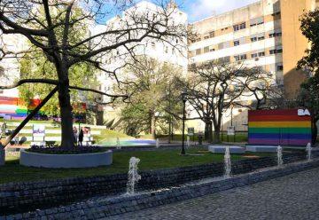 Renovación de la plaza Roberto Arlt