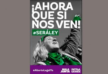 Timbreo por el aborto legal