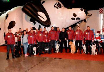 """La Policía con sus perros se presentó en """"Cachogos"""""""