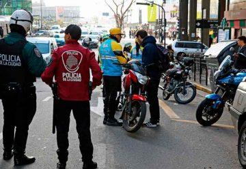 La Policía de la Ciudad secuestró casi 11 mil motos
