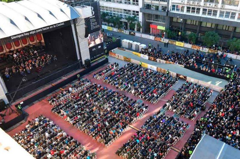 Daniel Barenboim brilló en un concierto gratuito
