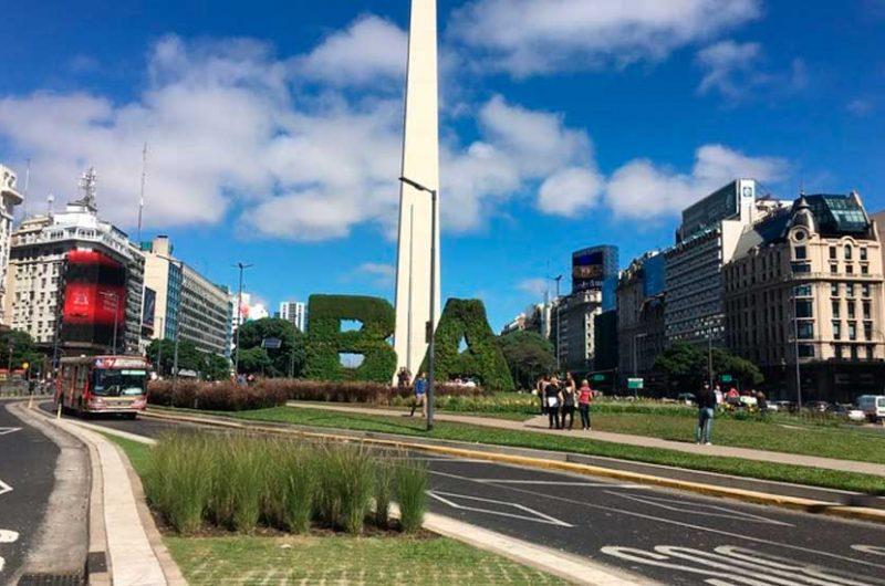 Gran cantidad de turistas en la Ciudad por las vacaciones