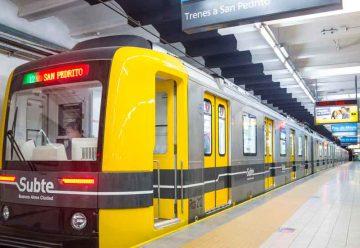 la línea A funcionará entre las estaciones San Pedrito y Perú