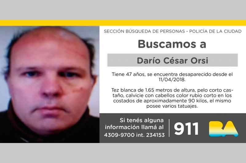 Búsqueda de paraderode Darío Cesar Orsi